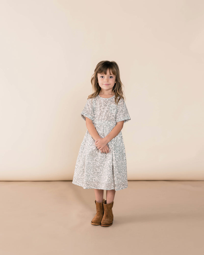 Dainty Leaves Kat Dress | Ivory