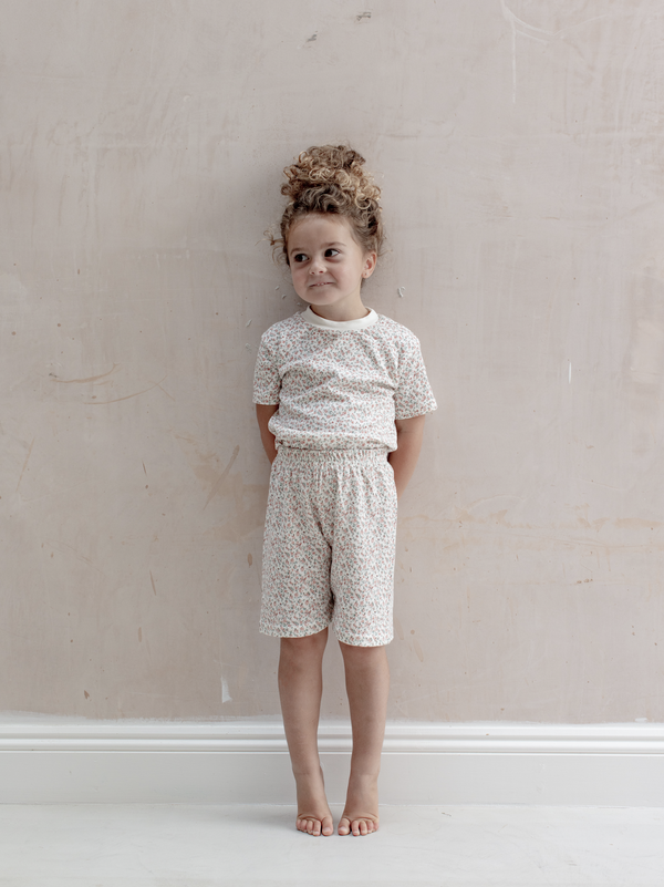 Kids Short and tee Set | Rosy