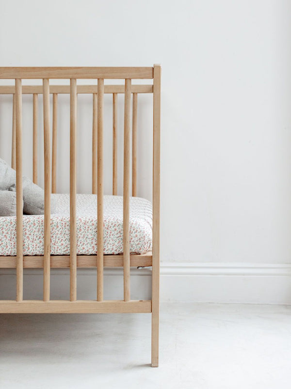 Fitted Crib Sheet | Rosy