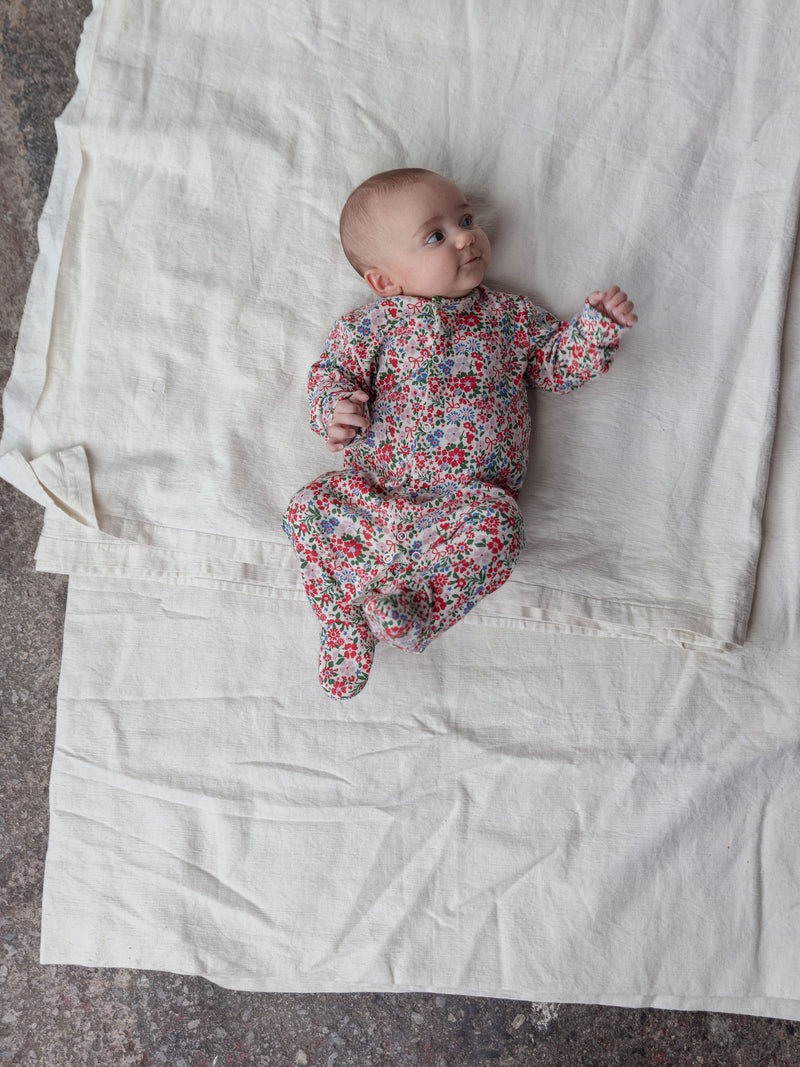 Baby Sleepsuit | Winter Floral