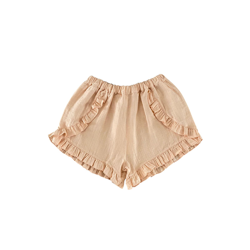 Bella Shorts | Nude