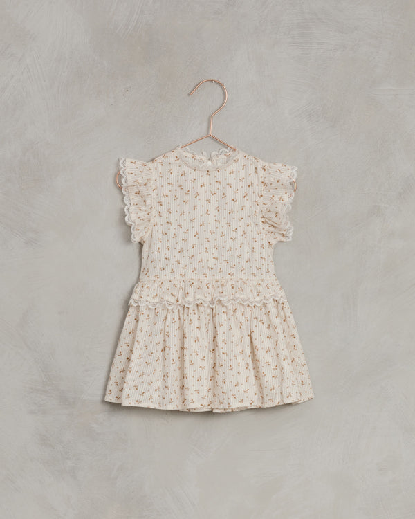 alice dress| gold fleur