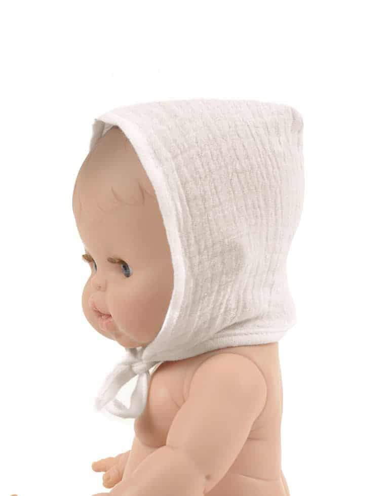 Doll Bonnet | White