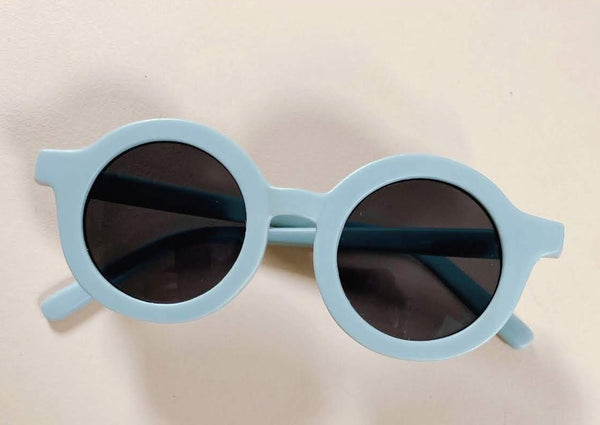 SUSTAINABLE KIDS SUNGLASSES | LIGHT BLUE