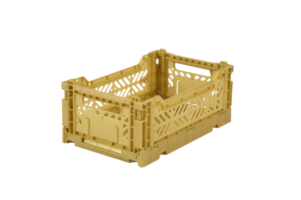Aykasa folding crate | mini | gold