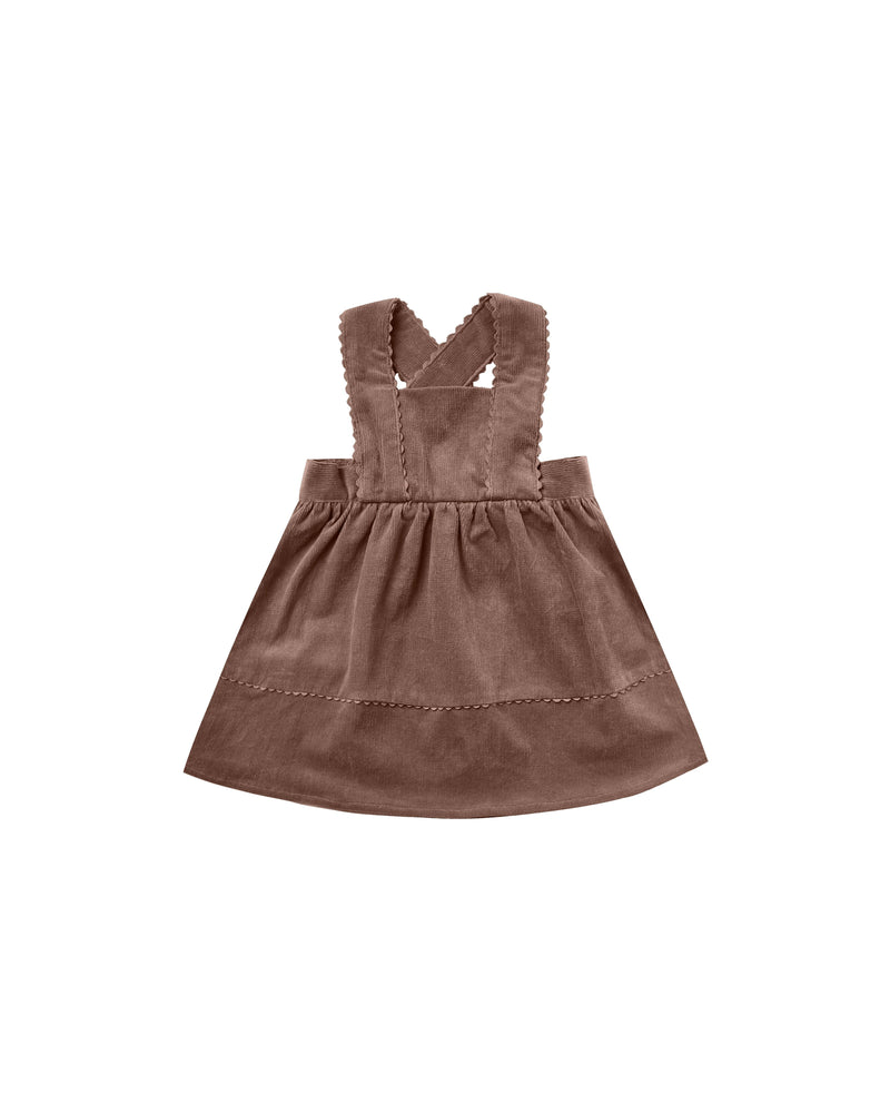 Corduroy Pinafore | Wine