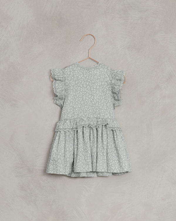 alice dress | blue ditsy