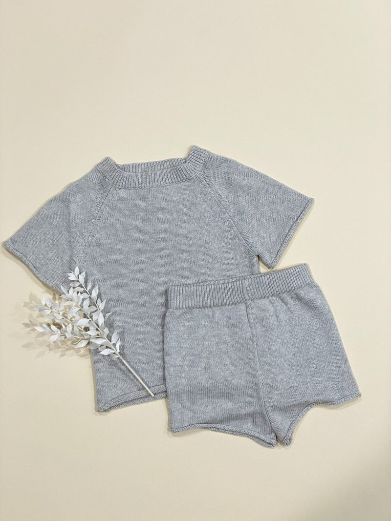 Knit set  | Gray