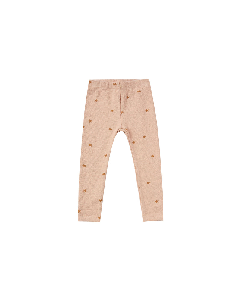 star knit legging | rose