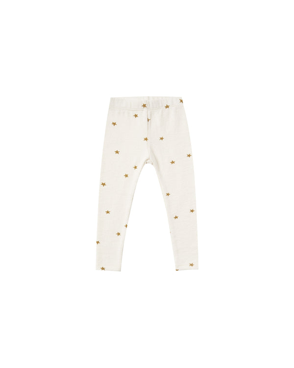 star knit legging | ivory