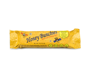 All-Natural Gourmet Honey Bars by Honey Bunchies (10 pack) - Nutritious and Delicious Pure Honey, Peanut, Sunflower Kernel, Pecan - Gluten-Free, Soy-Free, Grain-Free Snack for Energy or Workout