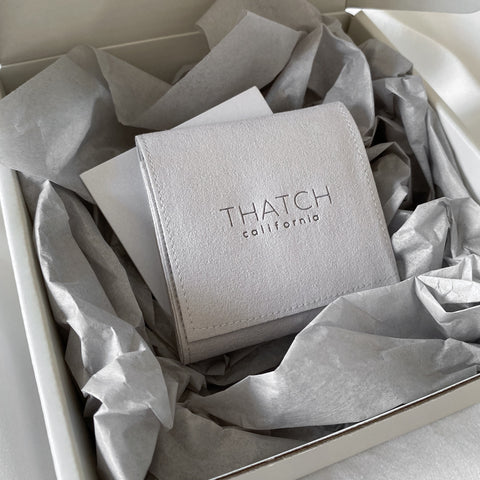 THATCH Reduced Packaging | Jewelry Pouch only