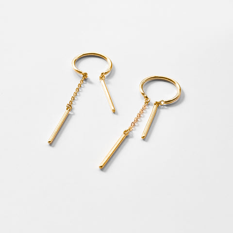 Mini Priya Threader Earrings