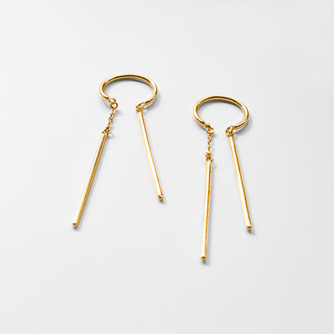 Priya Threader Earrings