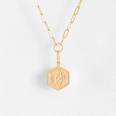 Divine Feminine Link Necklace