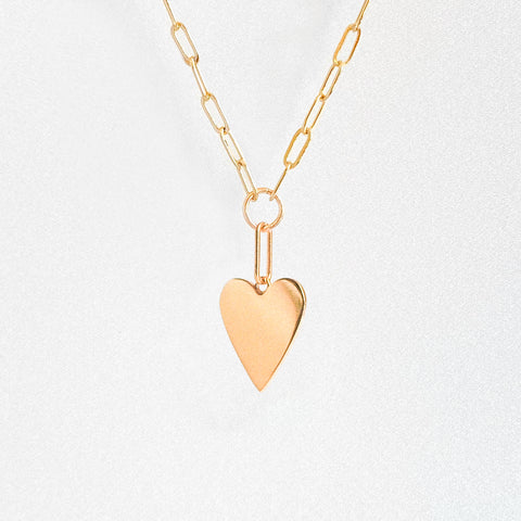 Amaya Heart Link Necklace
