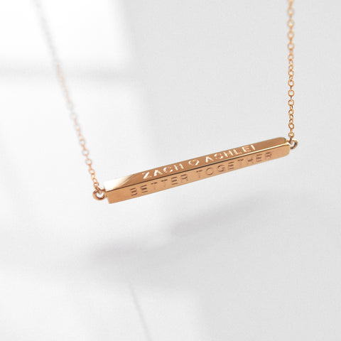 Moments Bar Necklace