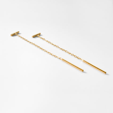 Milo Threader Earrings