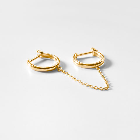 Remi Double Hoop Earring - Single Side