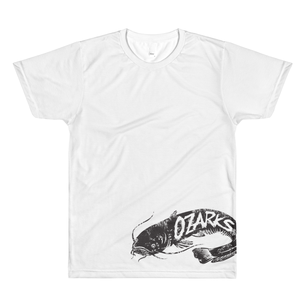 Ozarks Catfish All-Over Printed T-Shirt