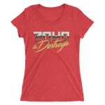 GLOW Zoya the Destroya Ladies' short sleeve t-shirt