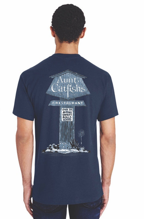 Aunt Catfish's On The River 40 Years Anniversary T-shirt
