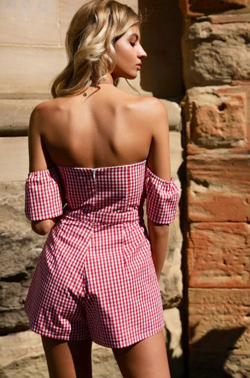 Country Side Red Gingham