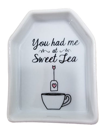 Ceramic Tea Bag Holder Says You Had Me at Sweet Tea