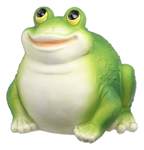 MayRich 7'' Round Fatty Woodland Animal Statue (Frog)