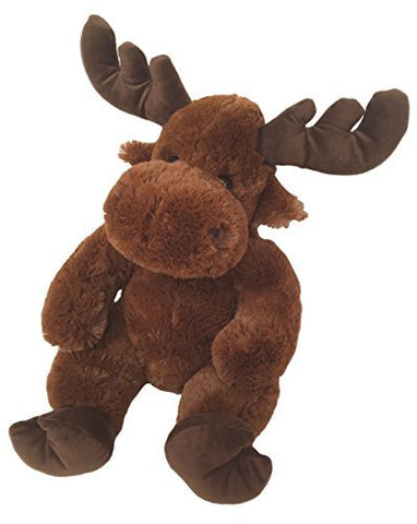 Wishpets Stuffed Animal - Soft Plush Toy for Kids - Sitting Moose, 14 Inches, Chestnut Brown