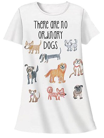 Nightshirt All Cotton There Are No Ordinary Dogs