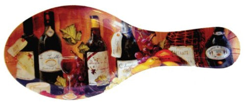 Melamine Spoon Rests 9-1/2 inches Long (Fruit and Wine)