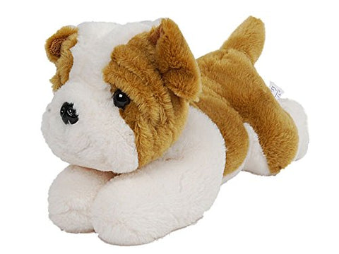 Plush Puppy 12 Inches Long Bulldog