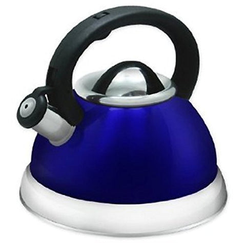Whistling Tea Kettle in Blue
