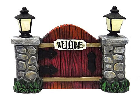 Miniature Glow in the Dark Fairy Garden Welcome Gate