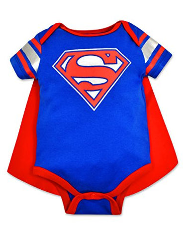 Baby Boys' Superman Bodysuit with Cape (6/9 Months)
