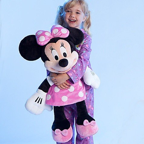 "Large/Jumbo 27"" Minnie Plush Toy Stuffed Character Doll"