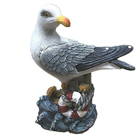 Resin Seagull Figurine (Life Float)