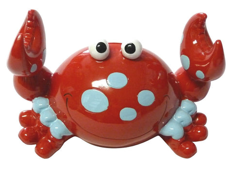 Bobble Claw Child's Bank Red Crab Coin Bank