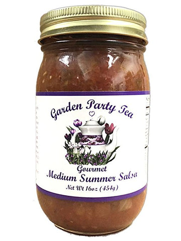 Gourmet Medium Summer Salsa 16oz Jar