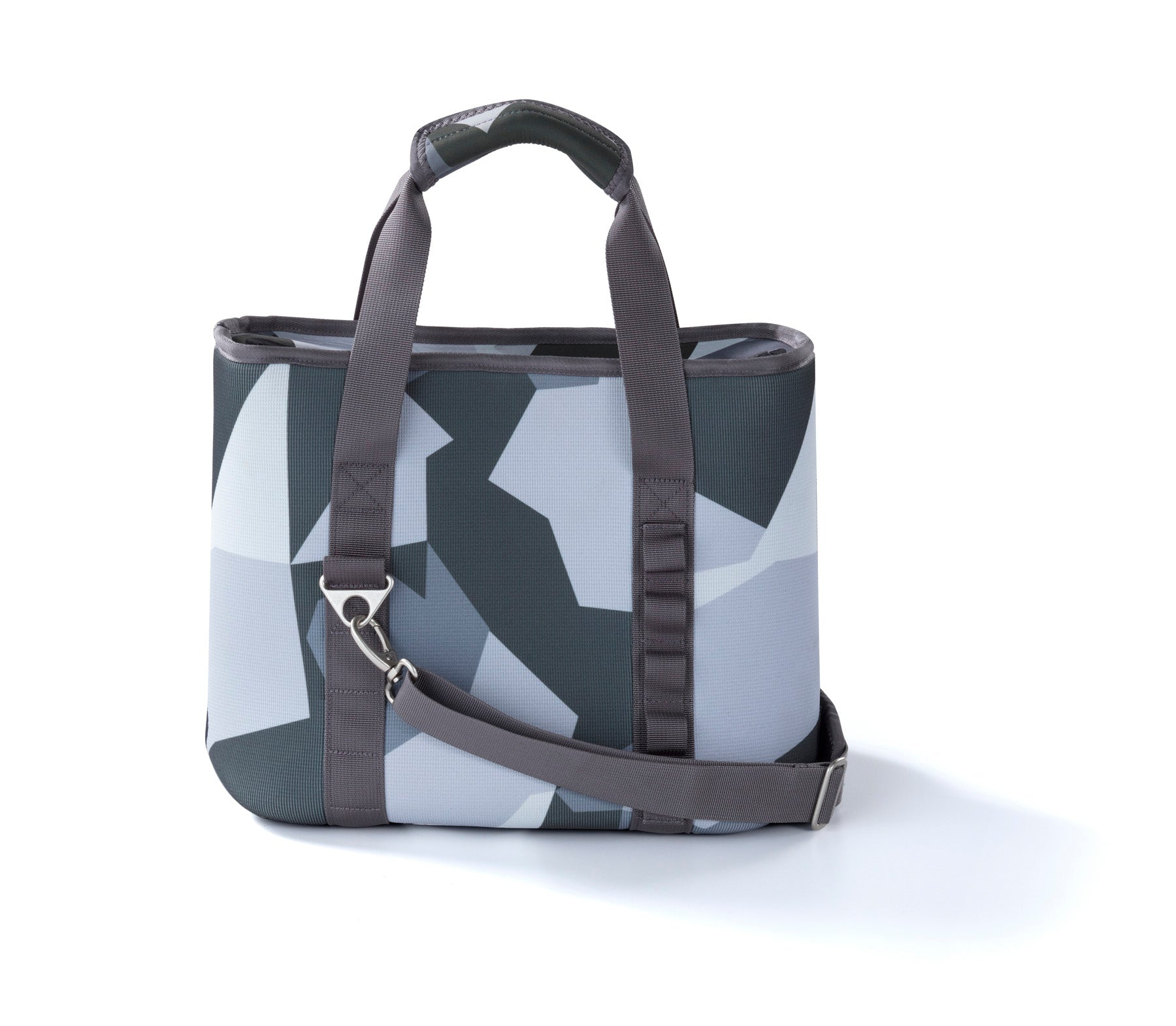 Women's Soft Sided Cooler - 12 Can - Grey Camo - Cooalla
