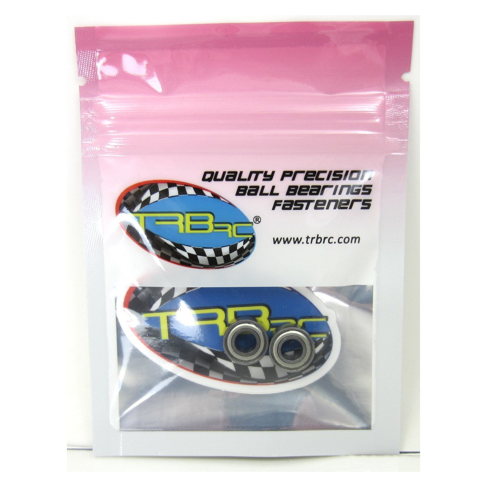TRB RC 5x11x5mm Precision Ceramic Ball Bearings Metal Shields (2) - trb-rc-bearings