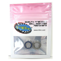 TRB RC 10x16x4mm Precision Ball Bearings ABEC 5 Hybrid Seals (2) - trb-rc-bearings