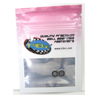 TRB RC 4x8x3mm Precision Ball Bearings ABEC 3 Rubber Sealed (2) - TRB RC®