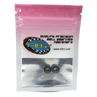 TRB RC 5x10x4mm Precision Ball Bearings ABEC 3 Rubber Sealed (2) - trb-rc-bearings
