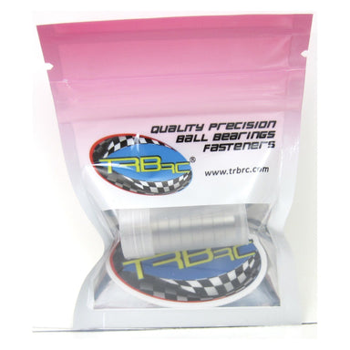 TRB RC 8x12x3.5mm Precision Ball Bearings ABEC 3 Rubber Sealed (10) - trb-rc-bearings