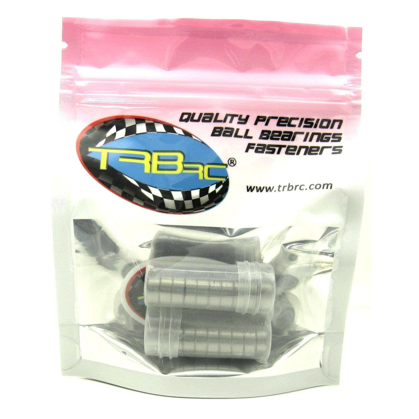 TRB RC 5x11x4mm Precision Ball Bearings ABEC 1 Rubber Sealed (20) - trb-rc-bearings