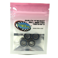 TRB RC 8x16x5mm Precision Ball Bearings ABEC 3 Rubber Sealed BLU (4) - TRB RC®