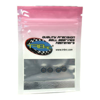 TRB RC 4x7x2.5mm Precision Ball Bearings ABEC 3 Rubber Sealed BLU (4) - trb-rc-bearings