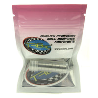 TRB RC 5x10x4mm Precision Clutch Ball Bearings Metal Shields (10) - trb-rc-bearings